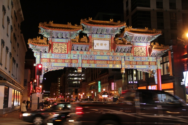 DC Chinatown Friendship Arch