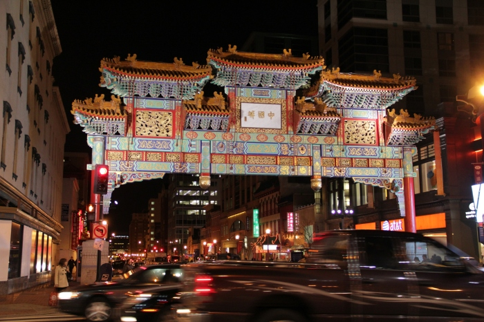 DC Chinatown Friendship Arch