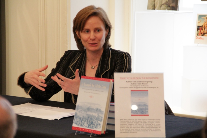 Kate Masur Book-Signing at National Portrait Gallery