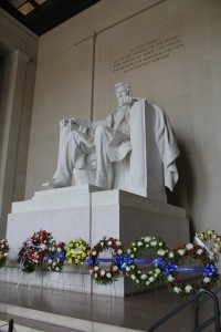 Lincoln's Birthday at the Lincoln Memorial