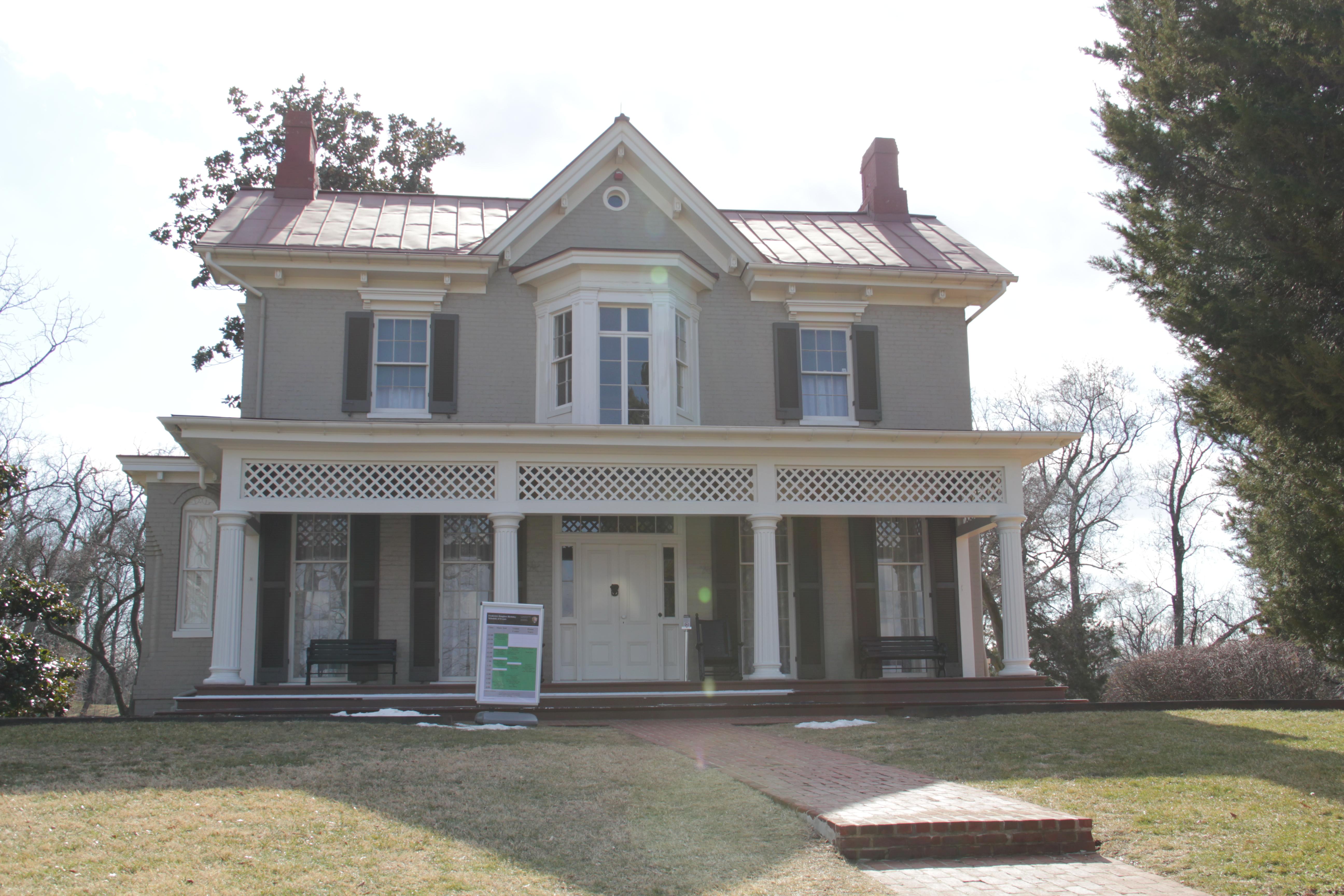 Frederick douglass historic district for Fredrick house