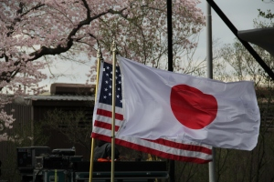 US-Japan Flags - Stand With Japan - 3.24.11 060