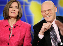 Matalin and Carville - AP