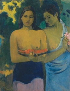 Gauguin - Two Tahitian Women - National Gallery of Art