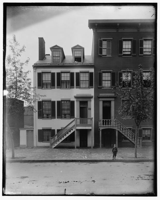 Mary Surratt Boarding House - LOC