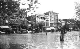 Pennsylvania Ave - June 2, 1889 (Library of Congress)