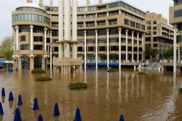 Washington Harbour Flooding