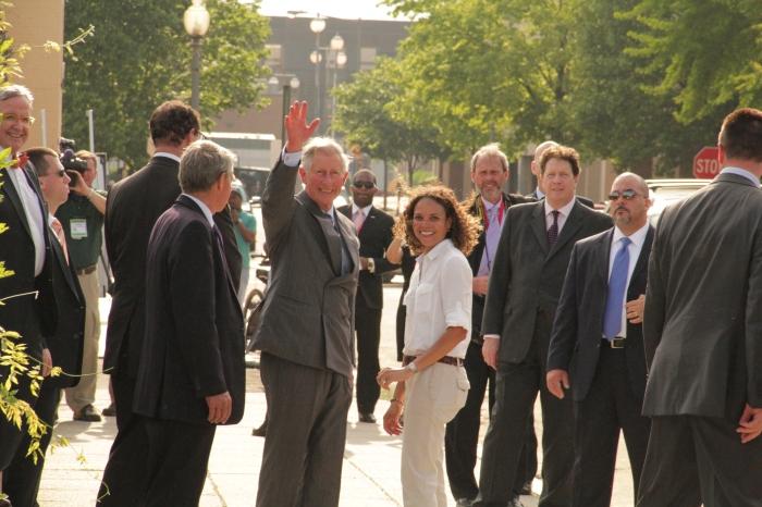 Prince Charles Farewell - 5.03.11