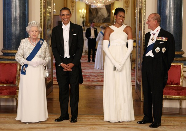 Obama's second visit with the Queen