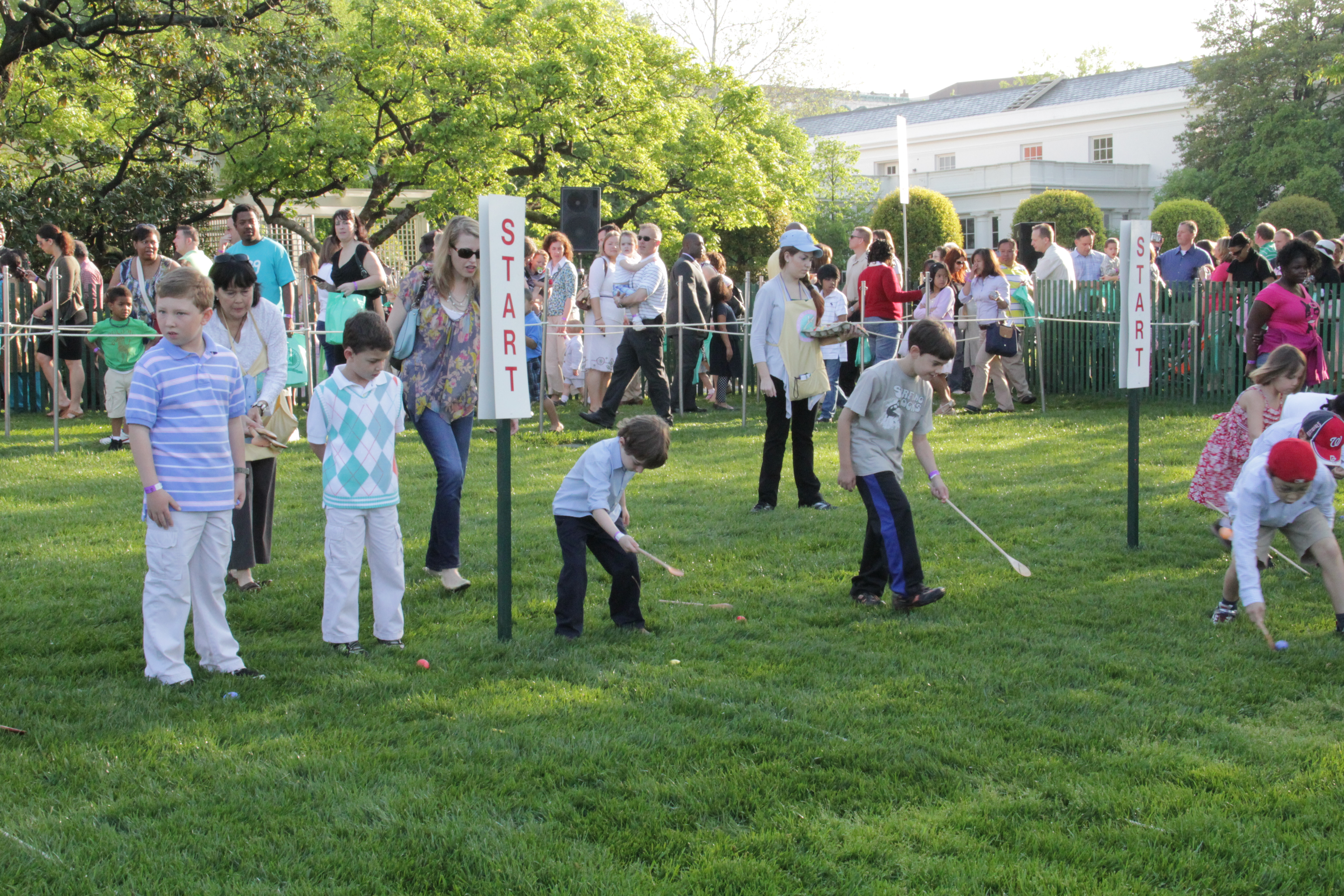 The White House Easter Egg Roll Historic District
