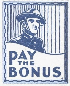 Bonus Army Poster