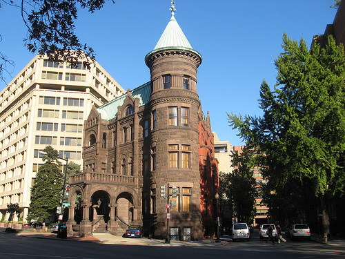 Christian Heurich's Dupont Circle mansion, also known as the Brewmaster's Castle.