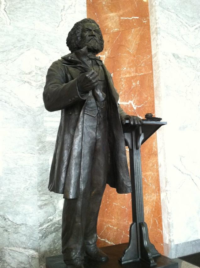 Frederick Douglass Statue Statue of Limit...