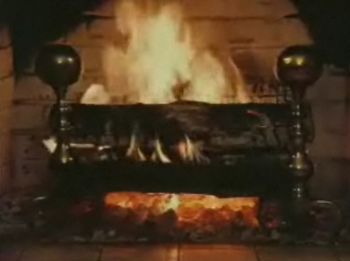 The annual Yule Log broadcast from NYC's WPIX, also shown on DC's WDCW on Christmas Day.