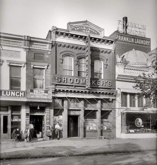 Shoomaker's Bar on D.C.'s infamous Rum Row. (Photo: Library of Congress)