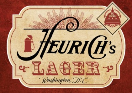 The new Heurich Lager label. (Photo: Heurich House)