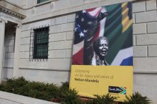 Mandela Sign - SE Embassy