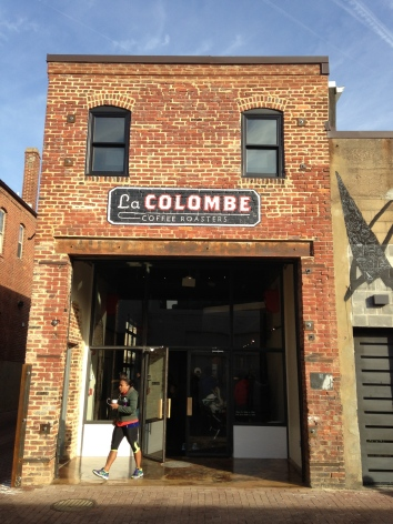 La Colombe, D.C.'s newest coffee shop in historic Blagden Alley.