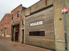 La Colombe's hip neighbor, the restaurant Rogue 24.
