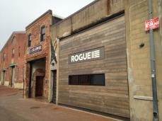 La Colombe's hip neighbor, the restaurant Rogue 24.