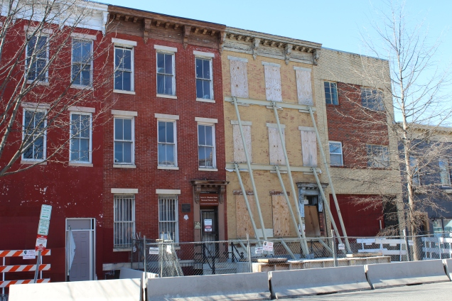 The Carter G. Woodson site is undergoing the first phase of preservation.