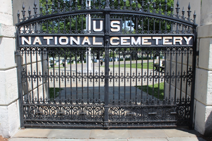 USSAH National Cemetery Gates